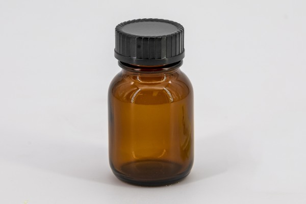 Braunes Weithalsglas 50 ml