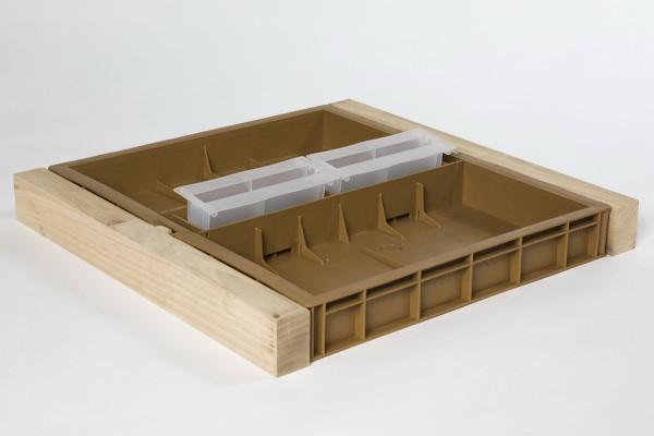 12er Dadant Kunststoff Futterzarge