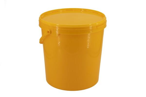 Honig-Eimer 25 kg gelb ohne Druck