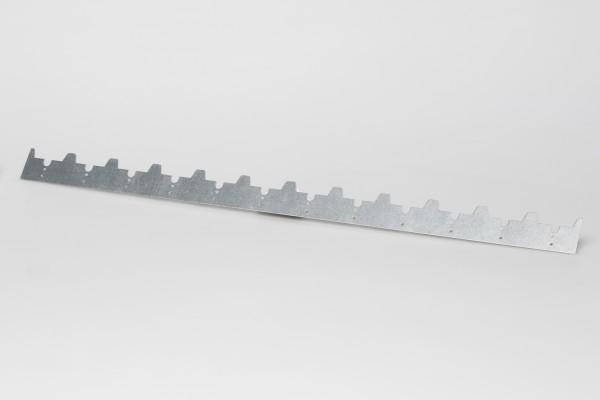 Abstandstreifen 448 mm verzinkt 12 W