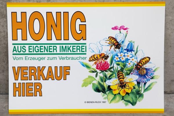 Flores Werbeschild 48 x 68 cm