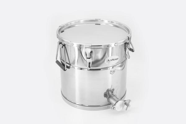 ApiNord® Abfüllkübel 25 kg Edelstahl