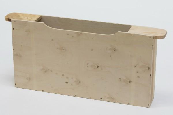 Holz-Futtertasche Zander doppelte Wabenbreite