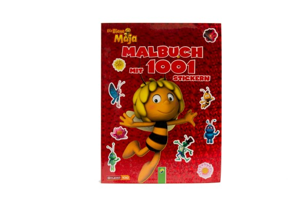 Buch: Biene Maja, Stickermalbuch