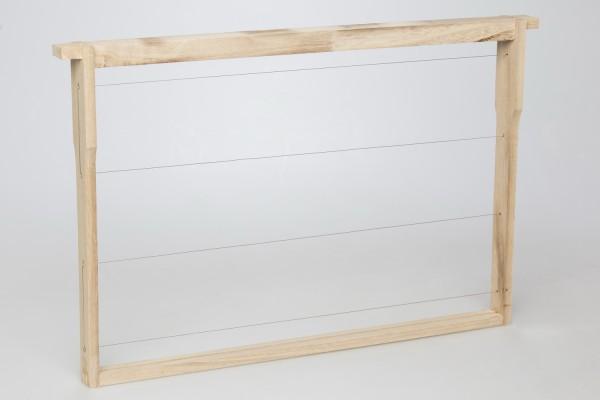 EWG® Rähmchen gedrahtet Dadant Blatt 300 mm Hoffmann-Seiten