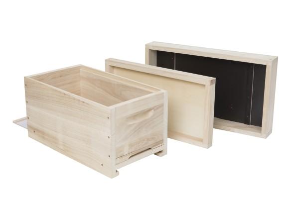 Mini Plus Überwinterungsmagazin bzw. Bieno® Ablegerkasten Dadant US Honig