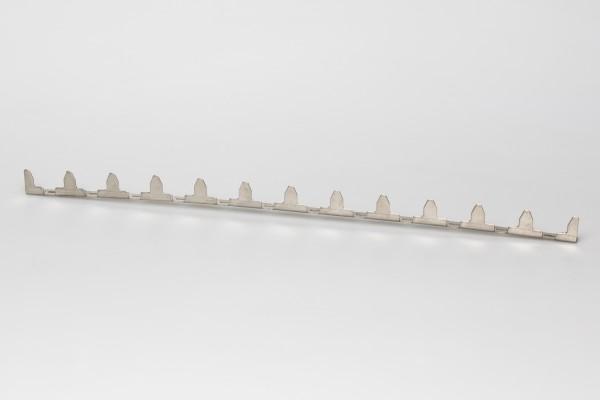 Abstandstreifen 430 mm Edelstahl 12 W
