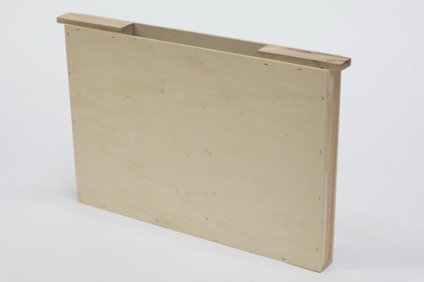 Holz-Futtertasche Dadant Blatt einfache Wabenbreite