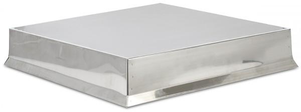 12er Dadant US bzw. Blatt Edelstahl Deckel halbkonisch 570 x 570