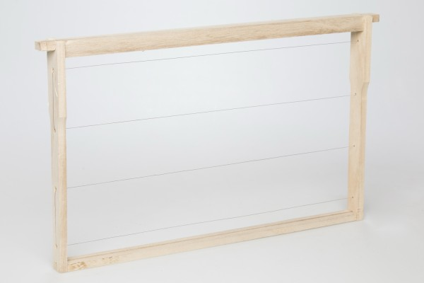EWG® Rähmchen gedrahtet Dadant US 285 mm Hoffmann-Seiten