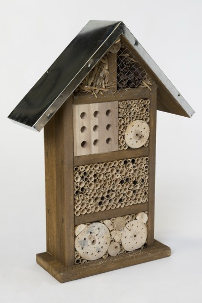 Wildbienen- und Insektenhotel Medium