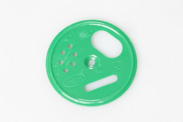 Fluglochrosette Kunststoff grün