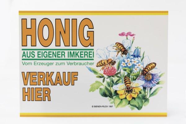 Flores Werbeschild 15 x 21 cm