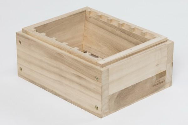Kieler Aufsatz-Zarge, Holz