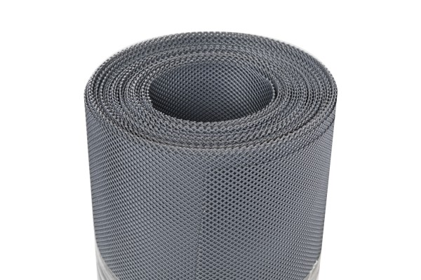 Kunststoffgewebe dunkelgrau 12,5 x 1 m