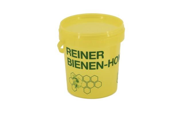 Honig-Eimer 1 kg gelb mit Druck