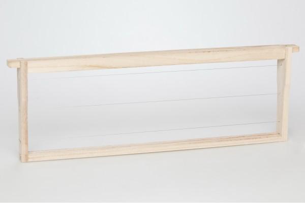 EWG® Rähmchen gedrahtet Dadant US 159 mm Hoffmann-Seiten