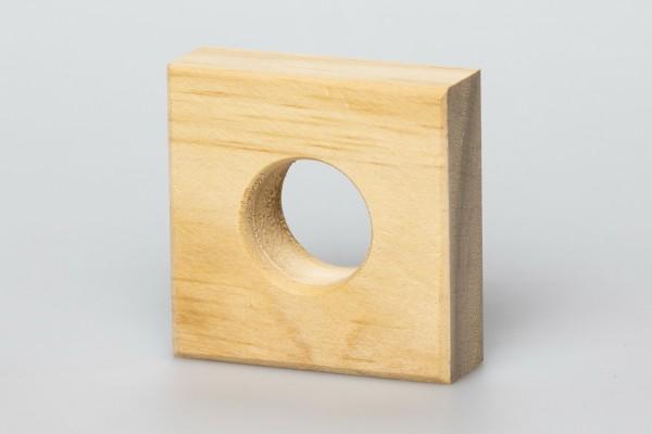 Holzvierkant mit Loch