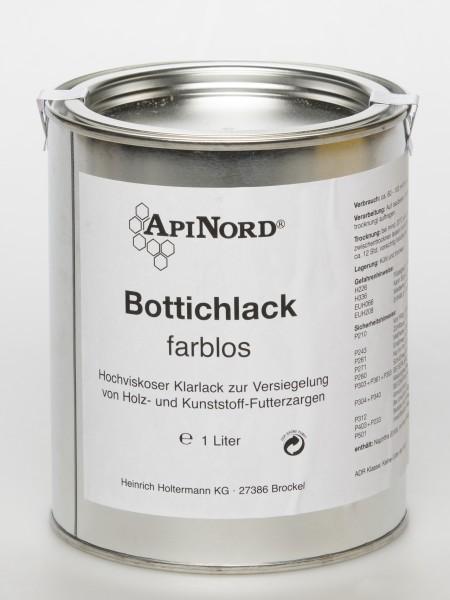 Bottichlack für innen und außen 1 l farblos