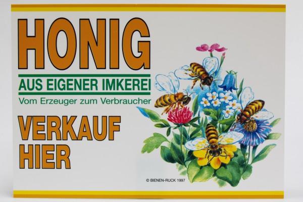 Flores Werbeschild 35 x 25 cm