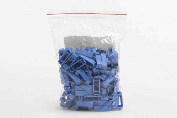 Kreuzklemmen aus Plastik 22/10 mm WEIß