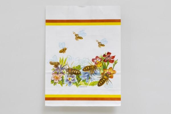 Flores Papier Tragetasche