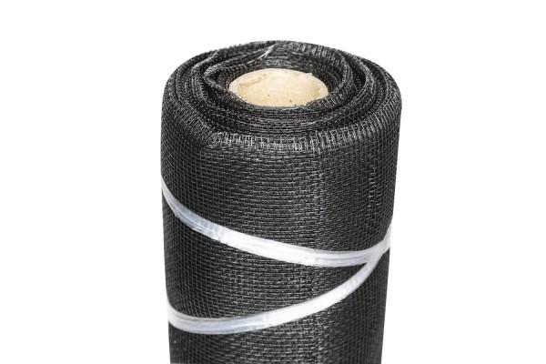 Abdeckgaze schwarz, 12,5 x 1,2 m