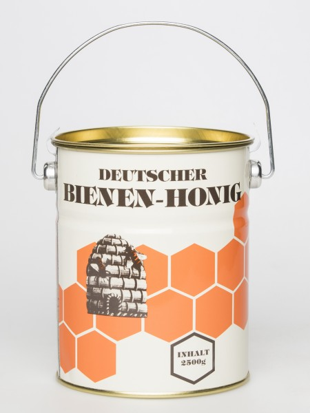 Blech-Honig-Eimer 2,5 kg bunt