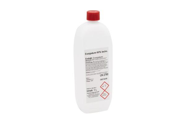 Essigsäure 60 %, Fl. a 1 Liter