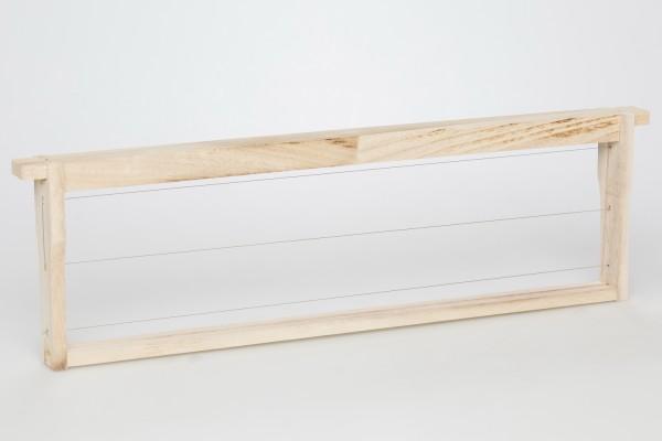 EEWG® Rähmchen gedrahtet Dadant US 141 mm Hoffmann-Seiten