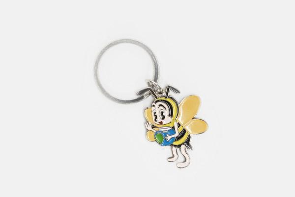 """Schlüsselanhänger """"Biene mit Honigtopf"""""""