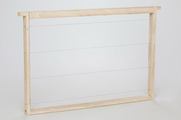 EWG® Rähmchen gedrahtet Dadant Blatt 300 mm gerade Seiten
