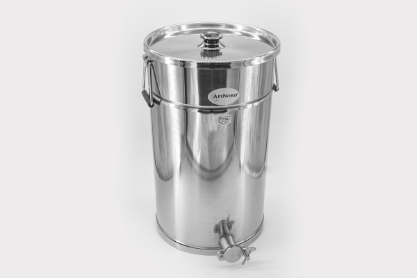 ApiNord® Abfüllkübel 50 kg aus Edelstahl