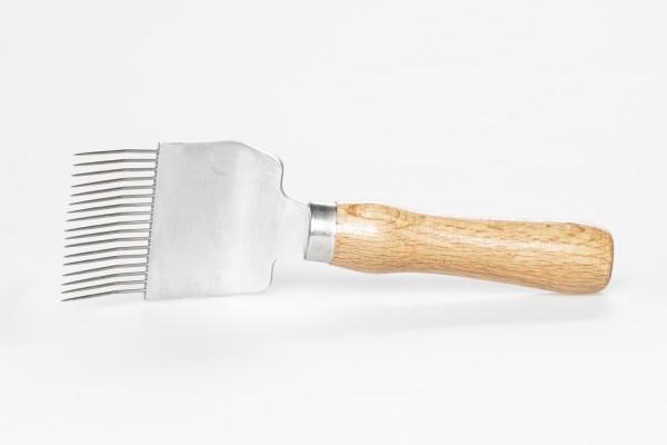 Entdecklungsgabel Holz gebogen