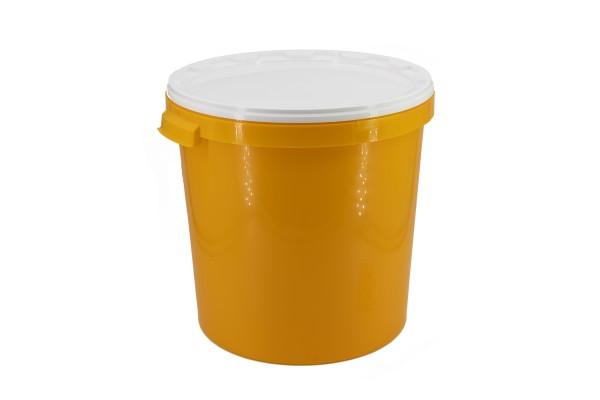 Hobbock 40 kg gelb ohne Druck