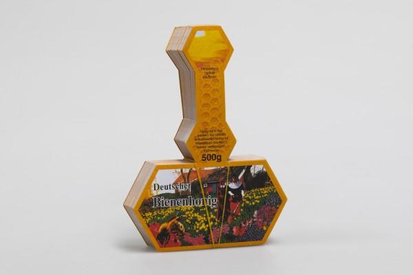 Honigglas-Stegetikett RAPSHONIG 500g