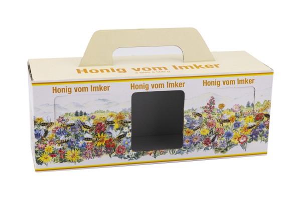 Flores Geschenk-Karton 3 x 500g