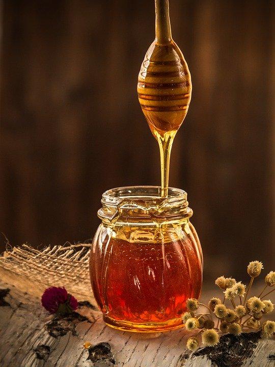 frischer-Honig-im-Glas