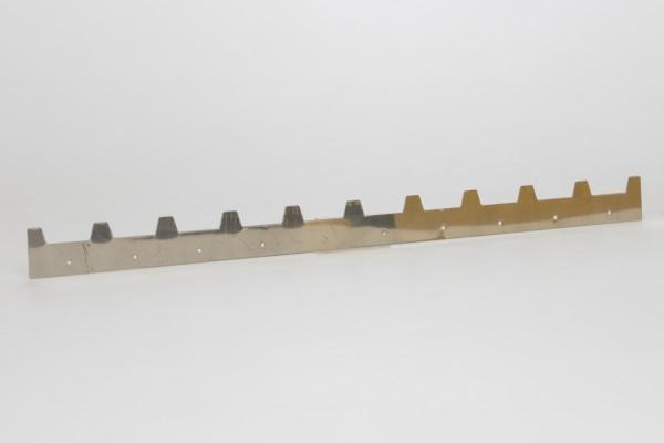 Abstandstreifen 400 mm Edelstahl 10 W