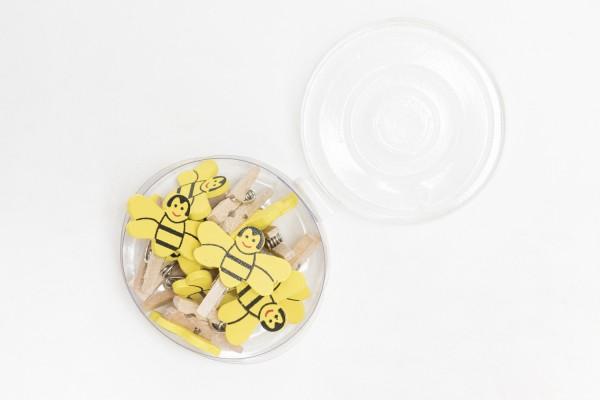Bieno®spass Bienenklammern, Dose mit 10 Stück