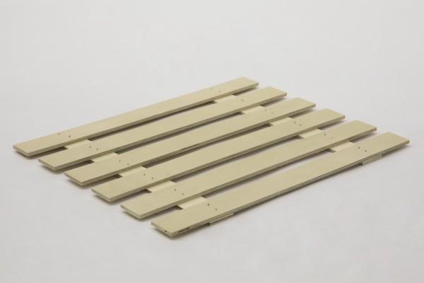 Holzbausperre passend zum Holzboden System Nordheide