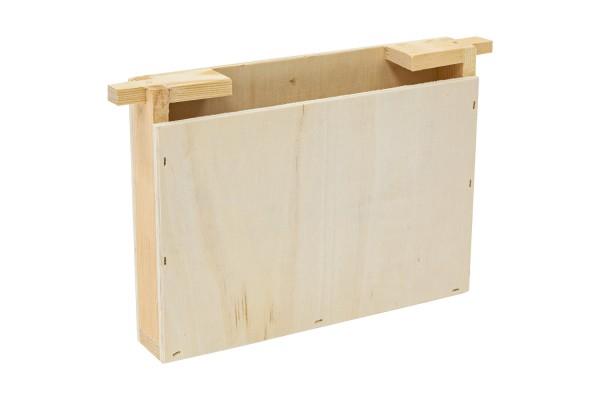 Holz-Futtertasche für Mini-Plus einfache Wabenbreite
